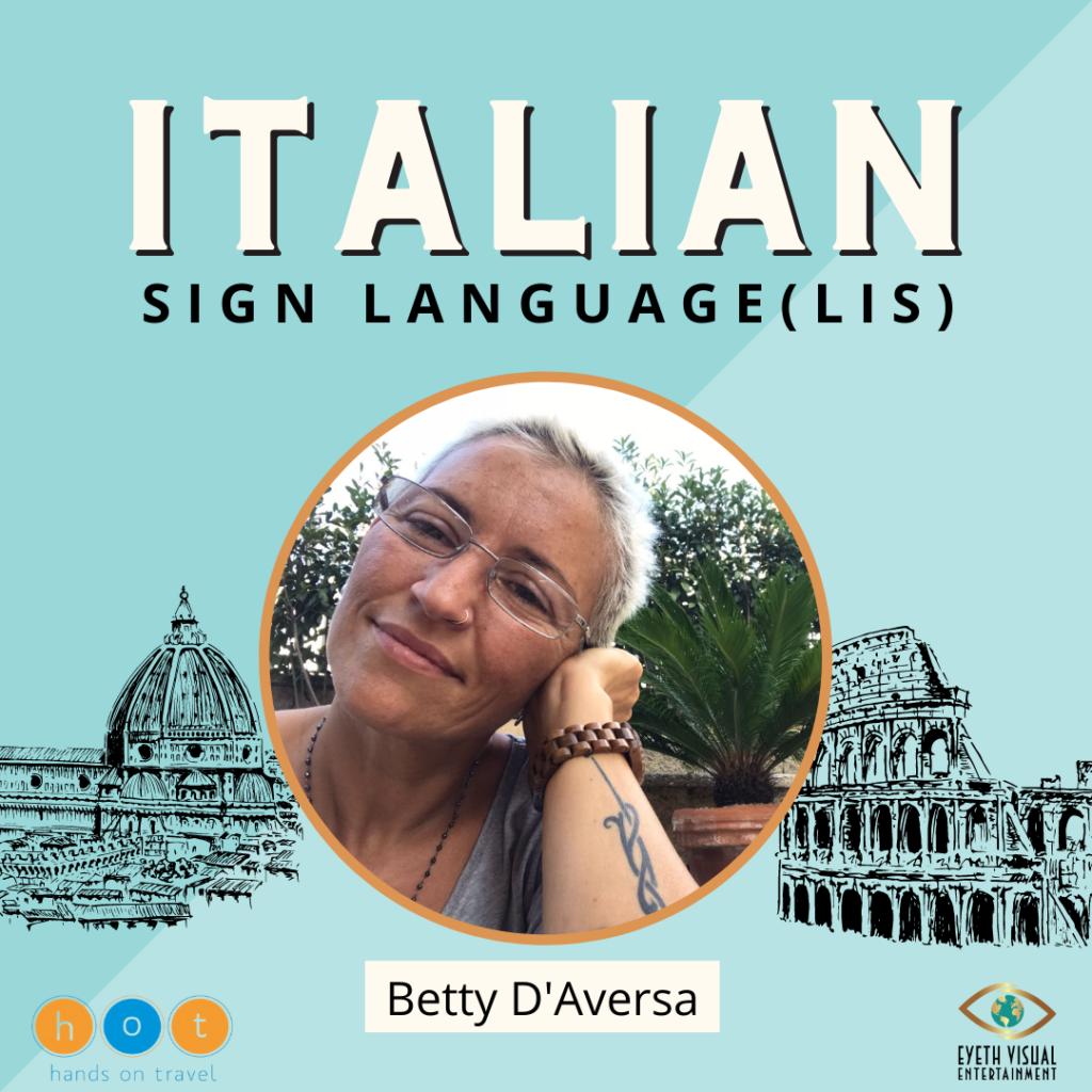 Hands on Travel - Italian Sign Language (ISL) - Course
